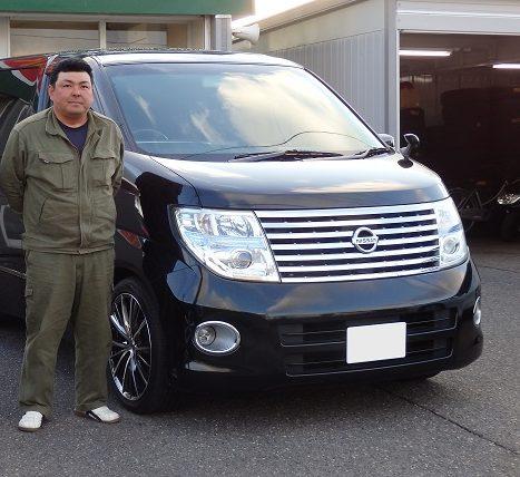 ■エルグランド御納車/新潟のお客様■
