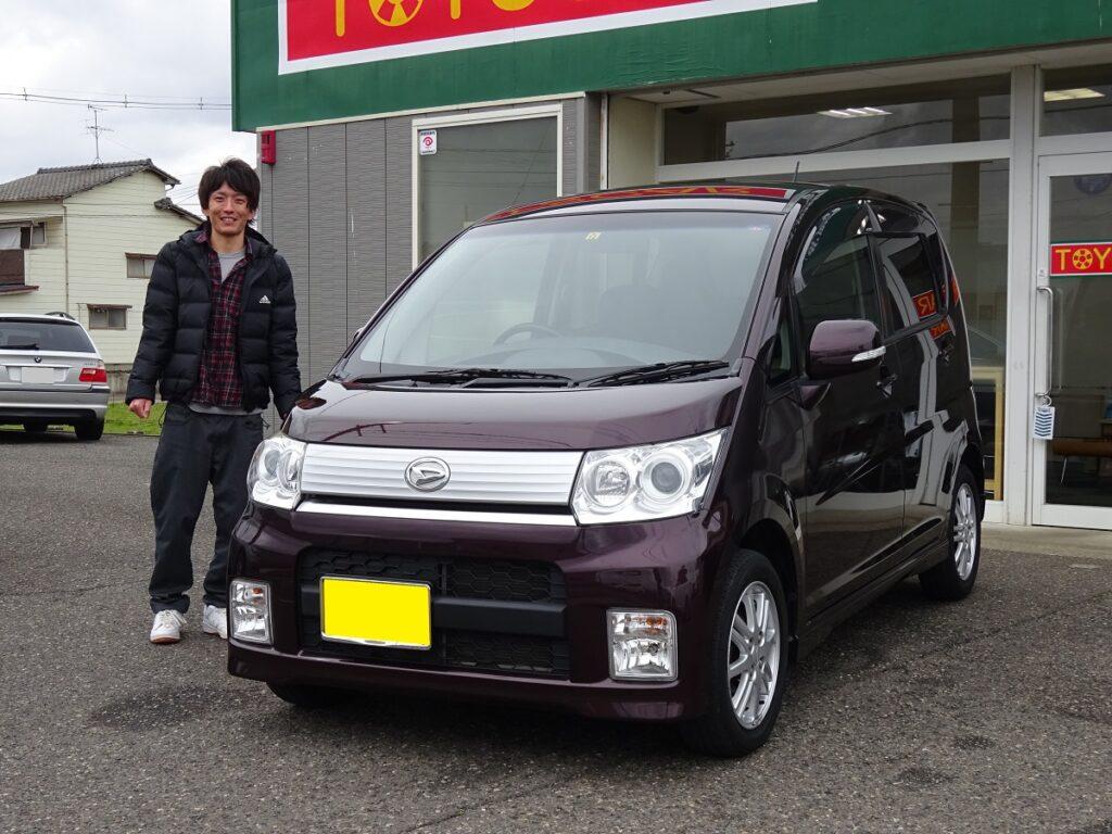 ■ムーヴ御納車/新潟のお客様■