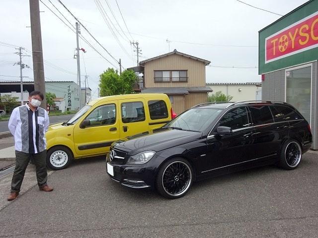 ■M.ベンツCクラスワゴン御納車/新潟のお客様■