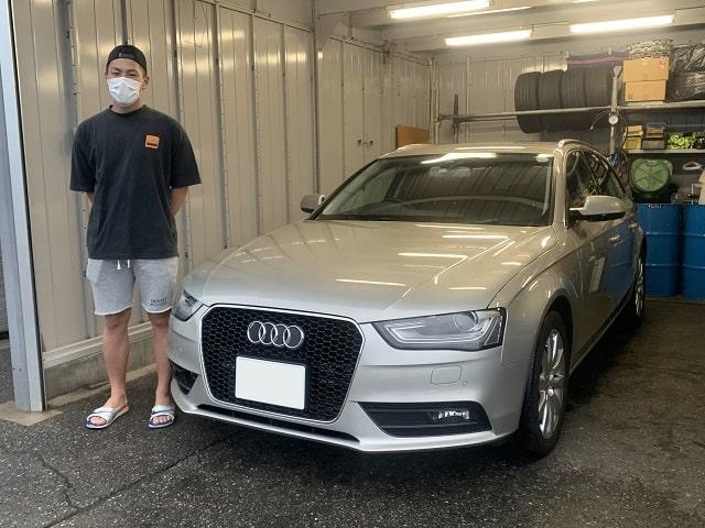 ■アウディA4アバント御納車/新潟のお客様■