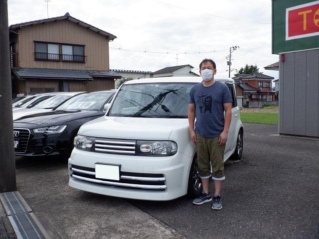 ■キューブ御納車/新潟のお客様■