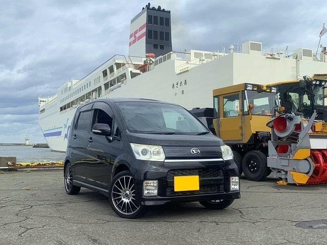 ■ムーヴカスタム御納車/北海道へフェリー航送■