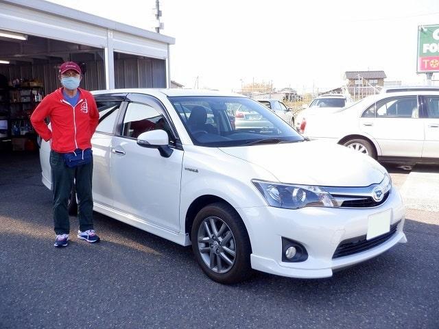 ■カローラフィールダーHB御納車/新潟のお客様■