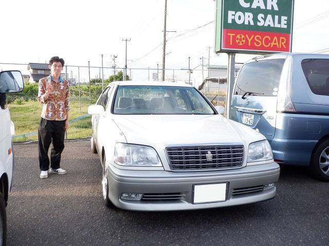 ■クラウン御納車/新潟のお客様■