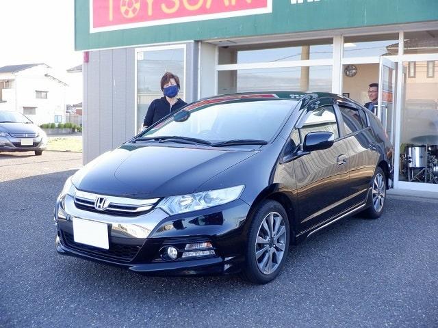 ■インサイトエクスクルーシブ御納車/新潟のお客様■