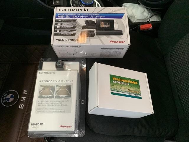 ■F45 BMW2シリーズ/バックカメラ&ドラレコ取付■